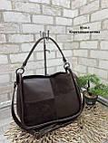Стильная женская сумка из натуральной замши и экокожи в ассортименте, фото 3