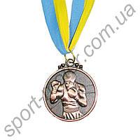 Медаль спортивная Бокс 3 место 28g