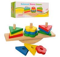 Логическая игра Деревянная игрушка Геометрика