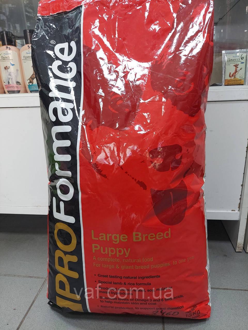 PROFormance Large Breed Puppy (Проформанс Лардж Брід Паппі) сухий корм для цуценят великих порід собак