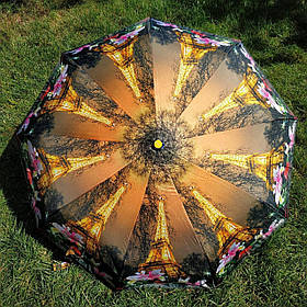 Зонт жіночий малюнок Париж Ейфелева вежа арт 437-4