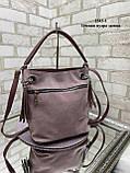 Вместительная модная женская сумка, фото 4