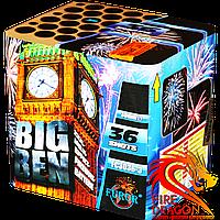 Салютна установка Big Ben FC3036-3, кількість пострілів: 36, калібр: 30 мм