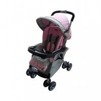 Прогулочная коляска Everflo E-301, цвет pink/grey