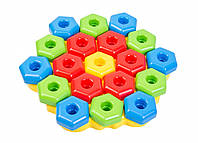 Развивающая игрушка-конструктор Тигрес Снежинка (39182)