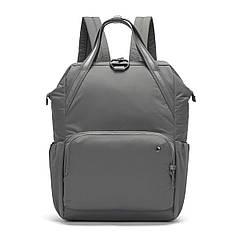 """Жіночий рюкзак """"антизлодій"""" Citysafe CX Backpack, 6 ступенів захисту (сірий, 39 см х 27 см х 16 см)"""