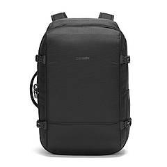 """Рюкзак, формат Maxi, """"антизлодій"""" Vibe 40, 7 ступенів захисту (насичений чорний, 50 см х 35 см х 18 см)"""