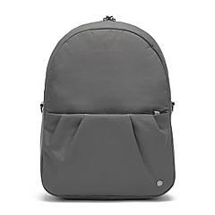"""Жіночий рюкзак трансформер """"антизлодій"""" Citysafe CX Convertible Backpack ECONYL, 6 ступенів захисту (сірий,"""