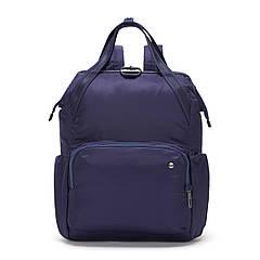 """Жіночий рюкзак """"антизлодій"""" Citysafe CX Backpack, 6 ступенів захисту (темно-синій, 39х28х16 см)"""