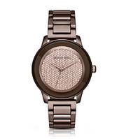 Часы Michael Kors Kinley Pavé Sable Crystal Dial Watch МК6245