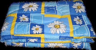 Одеяло летнее холлофайбер одинарное (Поликоттон) Двуспальное 180х210 51174