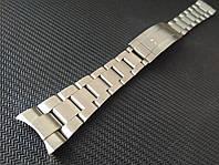 Браслет для часов из нержавеющей стали 316L, литой, мат. Заокругленное окончание. 20 мм, фото 1