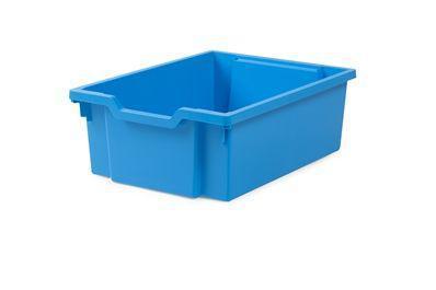 Пластиковий лоток F2 Grantells синій (12х427х150 мм.) з направляющими Контейнер для меблів