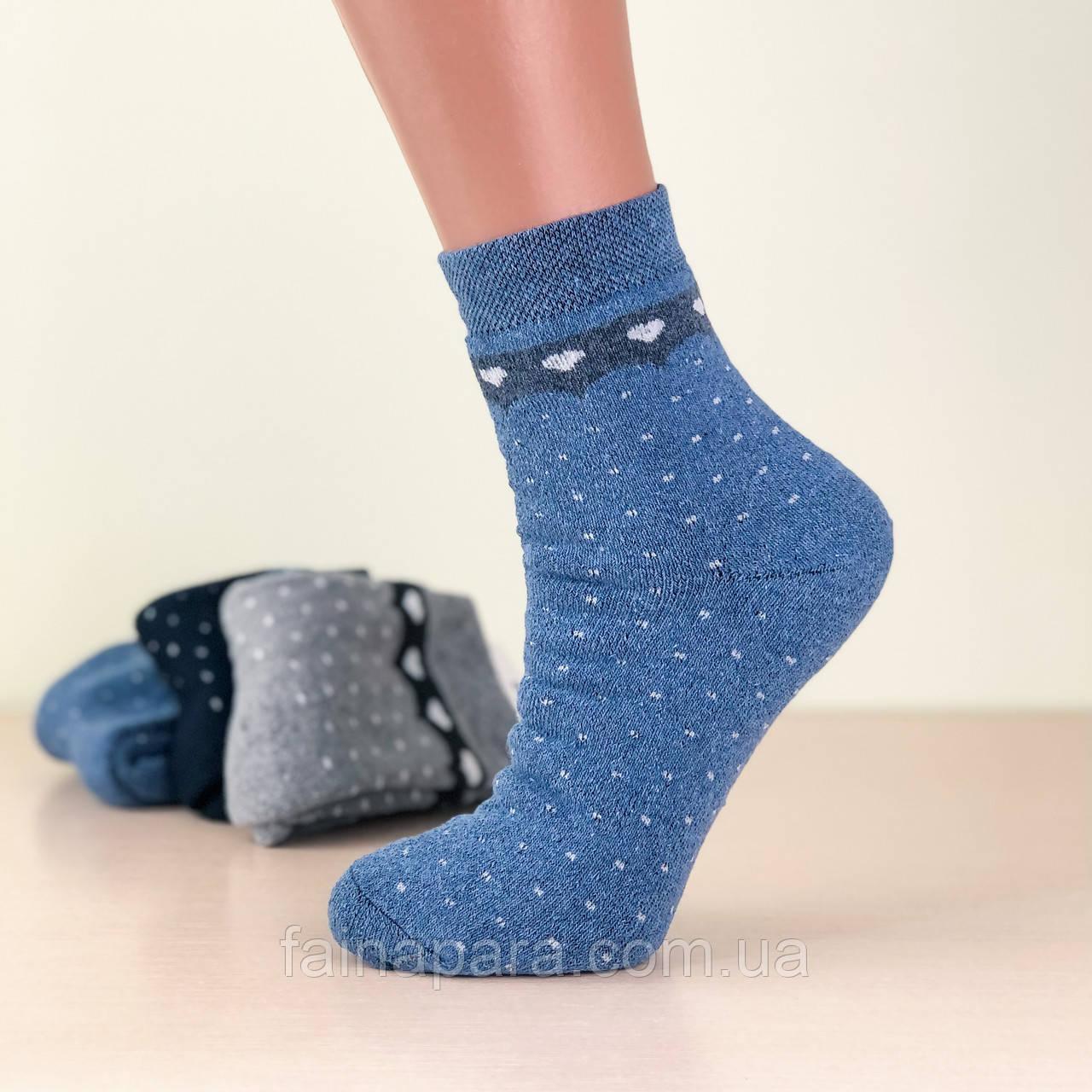 Жіночі махрові термо шкарпетки Luxe Style