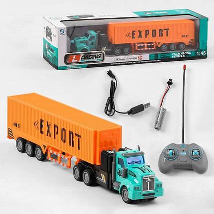 Трейлер на радіокеруванні (899-3 D) Loading Truck Series, фото 2