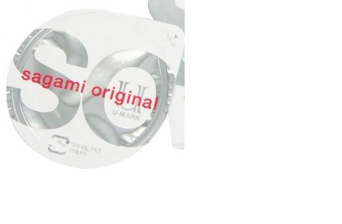 Ультратонкі презервативи Sagami Original 0.01 мм, 1 шт