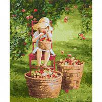 """Набор для рисования по номерам. """"Яблочки"""" 40*50см"""