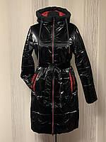 Осенние женские куртки и плащи под пояс удлиненные размеры 46-54