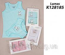Комплект (майка+трусики) для девочки TM Katamino оптом, Турция р.1-2 года (86-92 см)