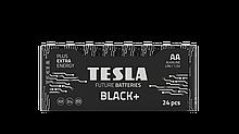 TESLA BATTERIES AA BLACK+ 24 MULTIPACK/ 6644 (LR06 / SHRINK 24 шт)