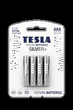 Батарейка TESLA SILVER LR03/ AAA/2363 щелочная (бл/4шт)