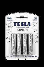 Батарейка TESLA SILVER LR6/ AA/2332 щелочная (бл/4шт)