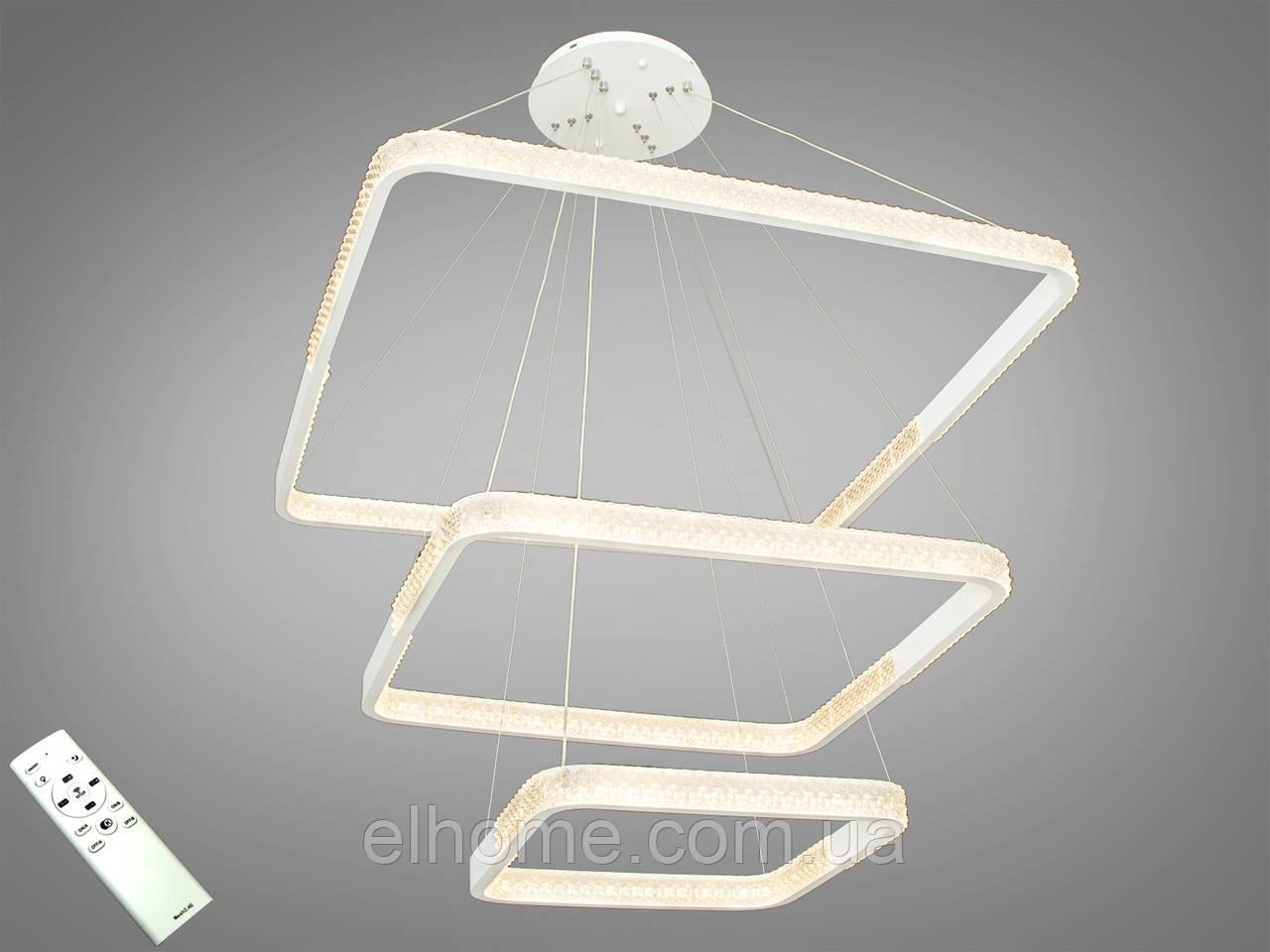 Современная светодиодная люстра с диммером, 200W