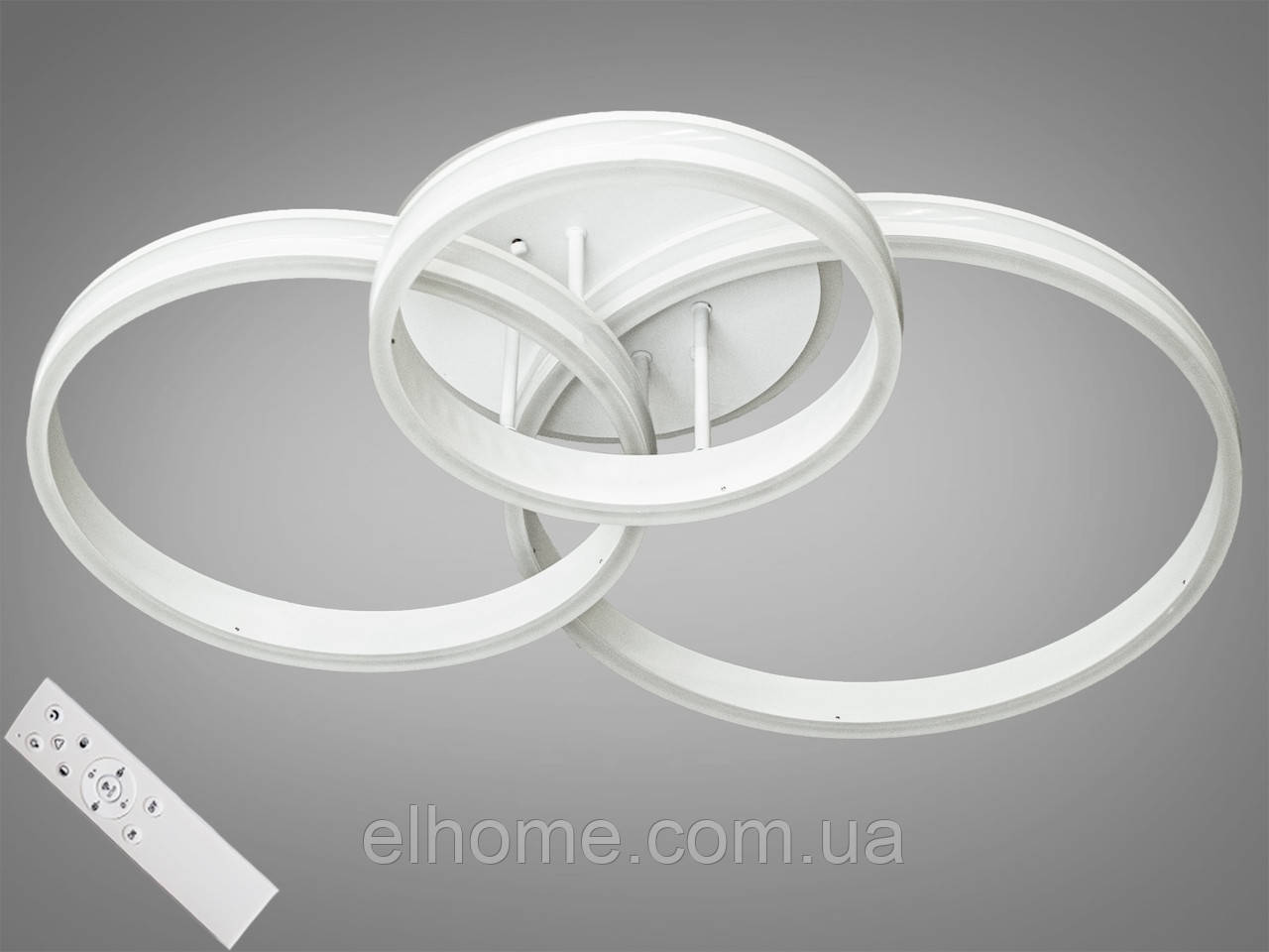 Потолочная светодиодная люстра с диммером 190W