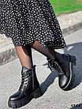 Ботинки женские Luke черные 4358 ДЕМИ, фото 3