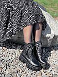 Ботинки женские Luke черные 4358 ДЕМИ, фото 4
