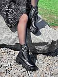Ботинки женские Luke черные 4358 ДЕМИ, фото 7