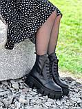 Ботинки женские Luke черные 4358 ДЕМИ, фото 9