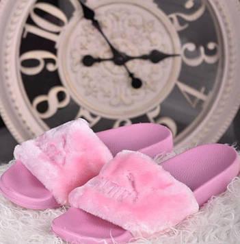 Тапочки кімнатні жіночі рожеві код Тп112