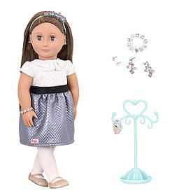 Лялька Our Generation 46 см Аліано з прикрасами (BD31166Z)