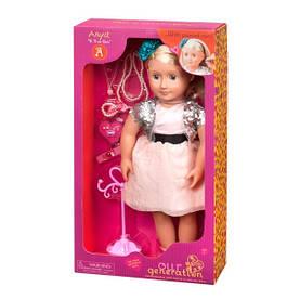 Лялька Our Generation Аня з прикрасами 46 см (BD31052Z)