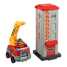 Набір Robocar Poli Пожежна станція з фігуркою Рой (83409)