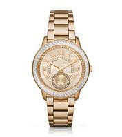 Часы Michael Kors Madelyn Pavé Gold-Tone Stainless Steel Bracelet МК6287