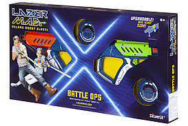 Игрушечное оружие SILVERLIT LAZER M.A.D. Двойной набор (2 бластера, 2 мишени) LM-86845