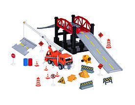 Игровой набор DRIVEN Строительство моста 35 эл.