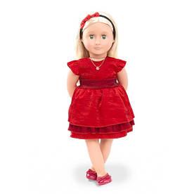 Лялька OUR GENERATION DELUXE Джинджер з одягом і аксесуарами 46 см BD31045Z