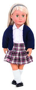 Лялька OUR GENERATION Емельен в шкільній формі 46 см BD31148Z