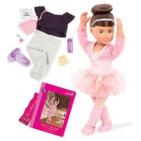 Лялька OUR GENERATION DELUXE Сідней Чи з книгою 46 см BD31099ATZ