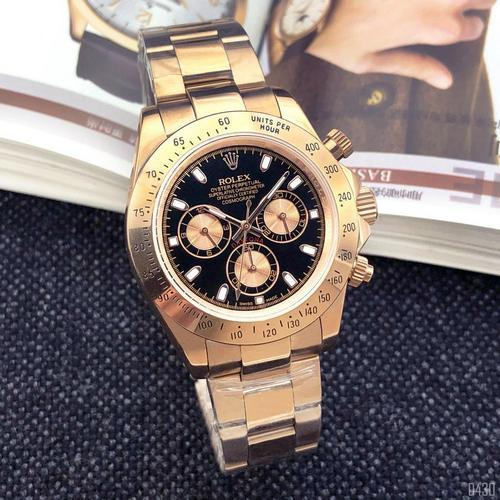 Rolex Cosmograph Daytona AAA Gold-Black-Rose