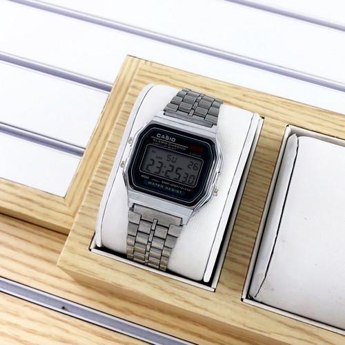 Casio 159 Silver-Black