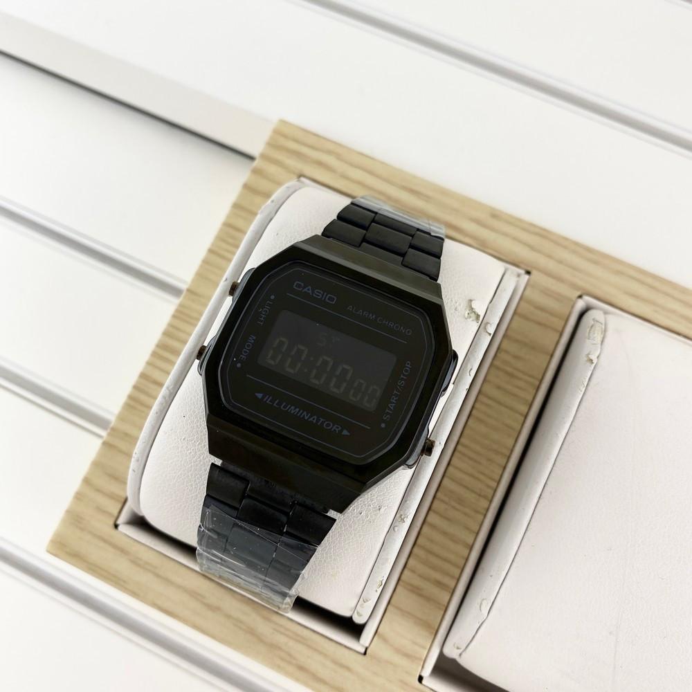 Casio A168 Illuminator All Black