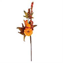 Декоративная осенняя ветвь, 40 см.