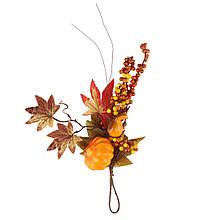 Декоративная осенняя ветвь, 34 см.