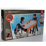 Дитяча настільна гра Хокей на ніжках 2365 Дитячий настільний Хокей повітряний аеро-хокей, фото 4
