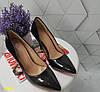 Туфлі човники класика чорні, фото 5