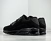 Мужские кроссовки черные нубук текстиль демисезонные, фото 3